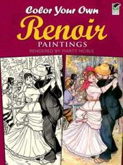 Color Your Own Renoir Paintings 0 9780486415468 0486415465