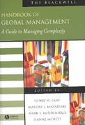 The Blackwell Handbook of Global Management 1st edition 9780631231936 0631231935