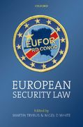 European Security Law 0 9780199218622 0199218625
