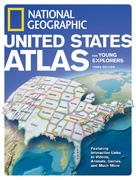 National Geographic United States Atlas for Young Explorers, Third Edition 3rd edition 9781426302558 142630255X