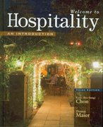 Welcome to Hospitality 3rd Edition 9781428321489 1428321489
