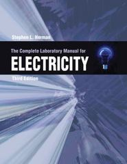 The Complete Lab Manual for Electricity 3rd edition 9781111803544 1111803544