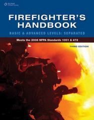 Firefighter's Handbook: Firefighter I and Firefighter II 3rd Edition 9781428339828 1428339825