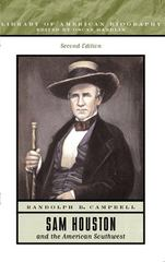 Sam Houston and the American Southwest 2nd Edition 9780321091390 0321091396