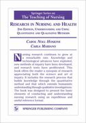 Research in Nursing and Health 2nd edition 9780826116161 0826116167