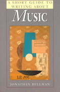 A Short Guide to Writing about Music 1st Edition 9780321015778 0321015770