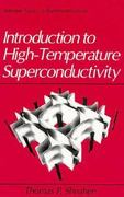 Introduction to High-Temperature Superconductivity 1st edition 9780306447938 0306447932
