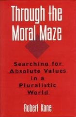 Through the Moral Maze 1st edition 9781557786012 1557786011