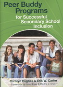 Peer Buddy Programs for Successful Secondary School Inclusion 1st edition 9781557669803 1557669805