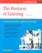 Crisp: The Business of Listening, Third Edition 3rd edition 9781560525905 1560525908