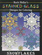 Stained Glass Designs for Coloring: Snowflakes 0 9780448418544 0448418541