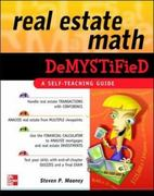 Real Estate Math Demystified 1st Edition 9780071481380 0071481389