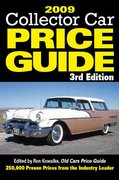 Collector Car Price Guide 2009 3rd edition 9780896896260 0896896269