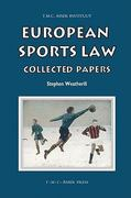 European Sports Law 1st edition 9789067042437 9067042439