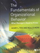 The Fundamentals of Organizational Behavior 1st edition 9781405100748 1405100745