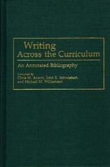 Writing Across the Curriculum 0 9780313259609 0313259607