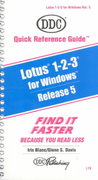 Quick Reference Guide for Lotus 123 Release 5 for Windows 0 9781562432478 1562432478