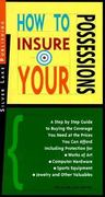 How to Insure Your Possessions 1st edition 9781563431562 1563431564