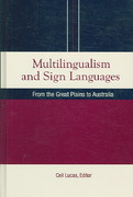 Multilingualism and Sign Languages 1st edition 9781563682964 1563682966