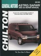 General Motors Astro/Safari 1985-2005 Repair Manual 1st edition 9781563926976 1563926970