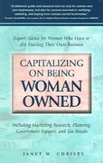Capitalizing on Being Woman Owned 1st edition 9781564148902 1564148904