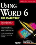Using Word 6 for Macintosh 2nd edition 9781565296473 1565296478