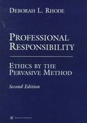 Professional Responsibility 2nd edition 9781567065428 1567065422