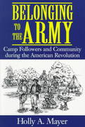 Belonging to the Army 1st Edition 9781570033391 1570033390