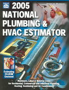 2005 National Plumbing and HVAC Estimator 13th edition 9781572181458 1572181451