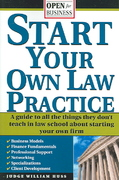 Start Your Own Law Practice 0 9781572485211 1572485213