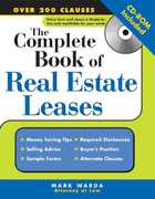 The Complete Book of Real Estate Leases 1st edition 9781572486287 1572486287
