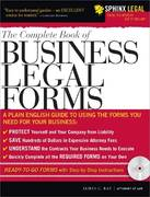 Complete Book of Business Legal Forms 4th edition 9781572486638 1572486635