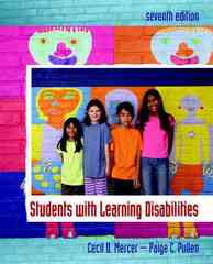 Students with Learning Disabilities 7th Edition 9780132228428 0132228424