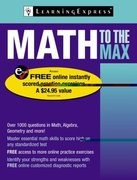 Math to the Max 1084th edition 9781576857038 1576857034