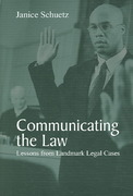Communicating the Law 1st edition 9781577664765 1577664760