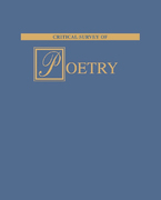 Critical Survey of Poetry 2nd edition 9781587650710 1587650711