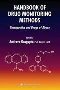 Handbook of Drug Monitoring Methods 1st edition 9781588297808 1588297802