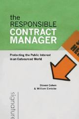The Responsible Contract Manager 1st Edition 9781589012141 1589012143