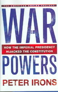 War Powers 1st edition 9780805075939 0805075933