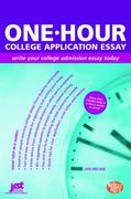 One-Hour College Application Essay 0 9781593574758 1593574754