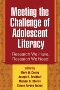 Meeting the Challenge of Adolescent Literacy 1st Edition 9781462523924 1462523927