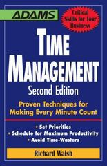 Time Management 2nd edition 9781598697650 159869765X