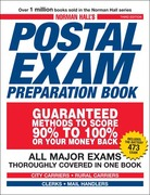 Norman Hall's Postal Exam Preparation Book 3rd edition 9781598698534 1598698532