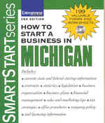 How to Start a Business in Michigan 2nd edition 9781599181349 1599181347