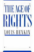 The Age of Rights 1st Edition 9780231064453 0231064454