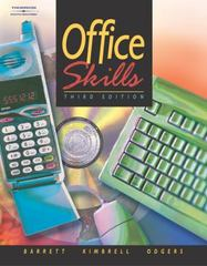 Office Skills 3rd edition 9780538434850 0538434856