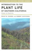 Introduction to the Plant Life of Southern California 1st Edition 9780520241992 0520241991