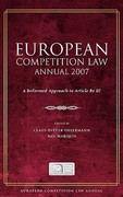 European Competition Law Annual 2007 2007th edition 9781841138381 184113838X