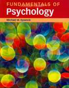 Fundamentals of Psychology 1st Edition 9781841693729 1841693723