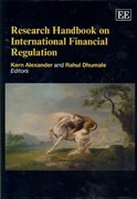 Research Handbook on International Financial Regulation 0 9781845422707 1845422708